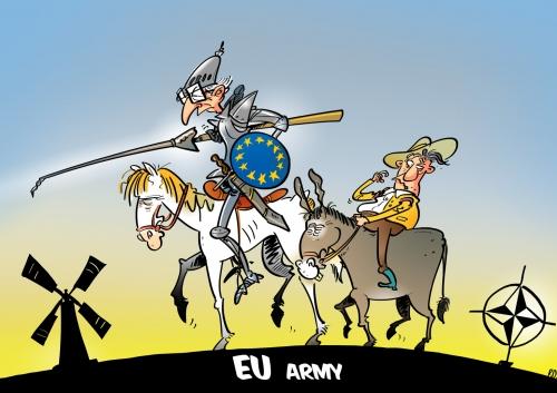 armée européenne don quichotte.jpg